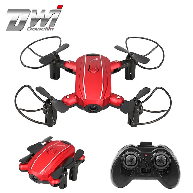Mini Drone con cámara HD plegable Drones RC Quadcopter con la cámara Drone helicóptero 2,4G 4CH 6 Axis Gyro RC juguetes 668-A7