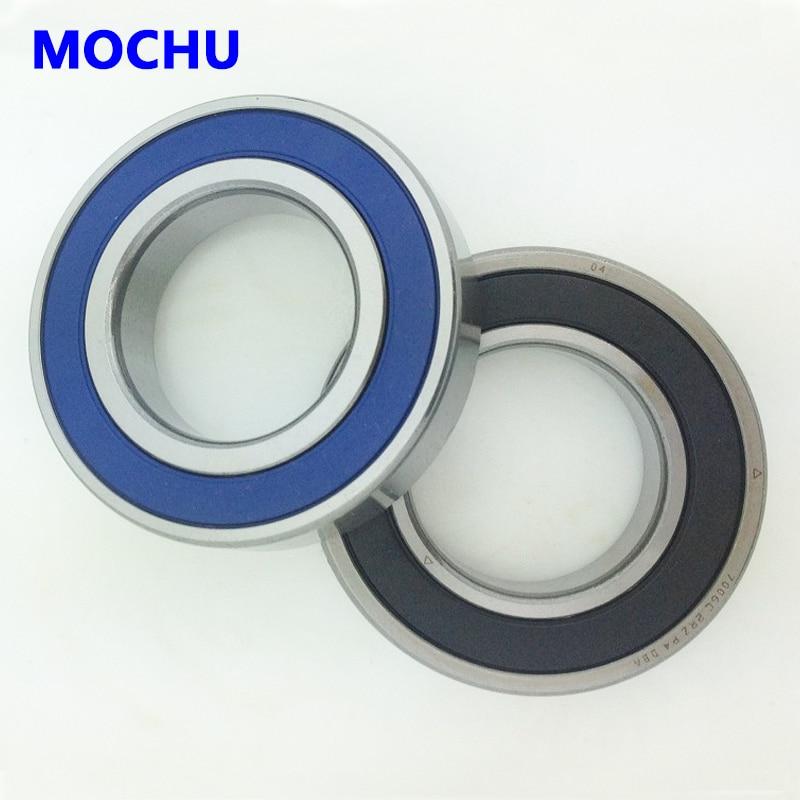 1 par MOCHU 7008 7008C 2RZ P4 DT 40x68x15x40x68x30 sellado Angular rodamientos...