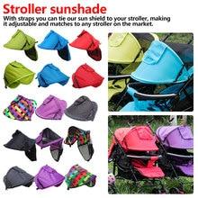 Housse de protection solaire pour mère   Couvercle de pare-soleil chaud et multifonction pour poussette, pièces coupe-vent pour poussette, capot solaire coloré
