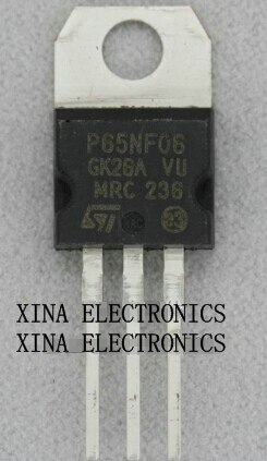 STP65NF06 P65NF06 65NF06 MOSFET 65A 60V NPN-220 ROHS ORIGINAL de 20 unids/lote envío gratis electrónica composición kit