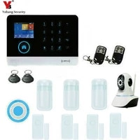Yobang     systeme dalarme de securite domestique  wi-fi gsm GPRS SMS  433MHz  clavier tactile  anti-cambriolage  application IOS Android