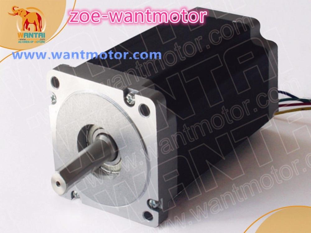 Motor barato! 1pc Nema 34 Wantai Motor paso a paso 85BYGH450C-060 eje simple 1600oz-in 151mm 6A ROHS, CE, ISO