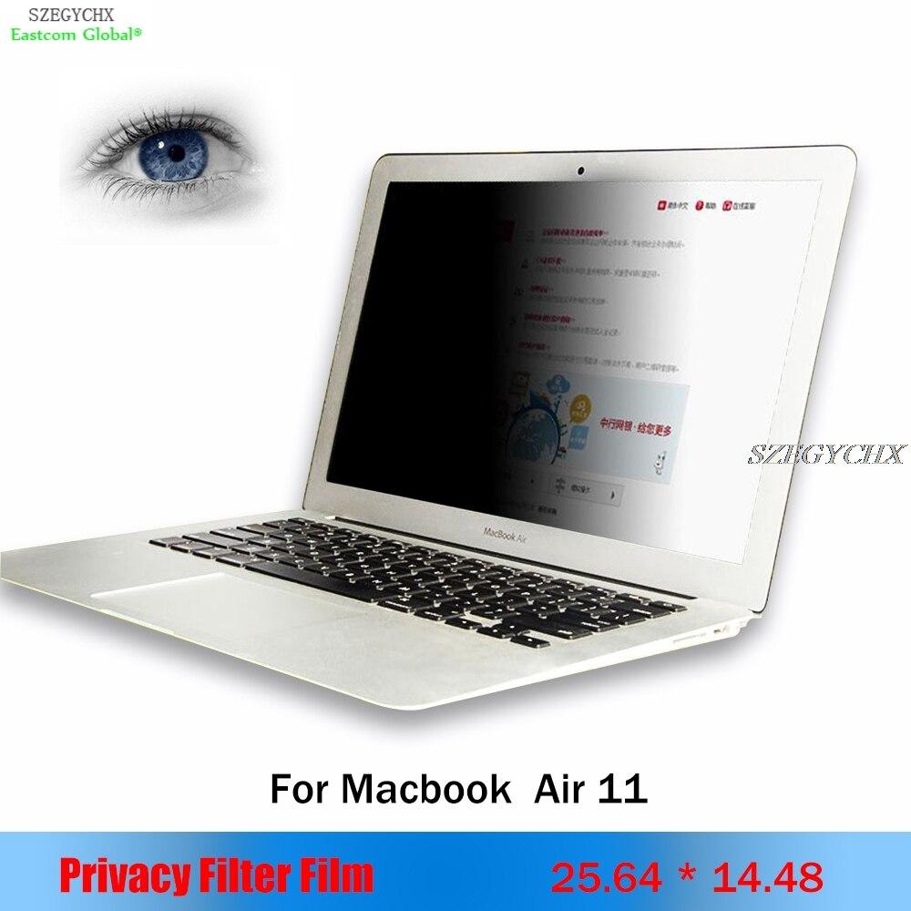 لابل ماك بوك اير 11 بوصة 25.64 سنتيمتر * 14.48 سنتيمتر المحمول الخصوصية شاشة الكمبيوتر فيلم واقية دفتر أجهزة الكمبيوتر الخصوصية تصفية