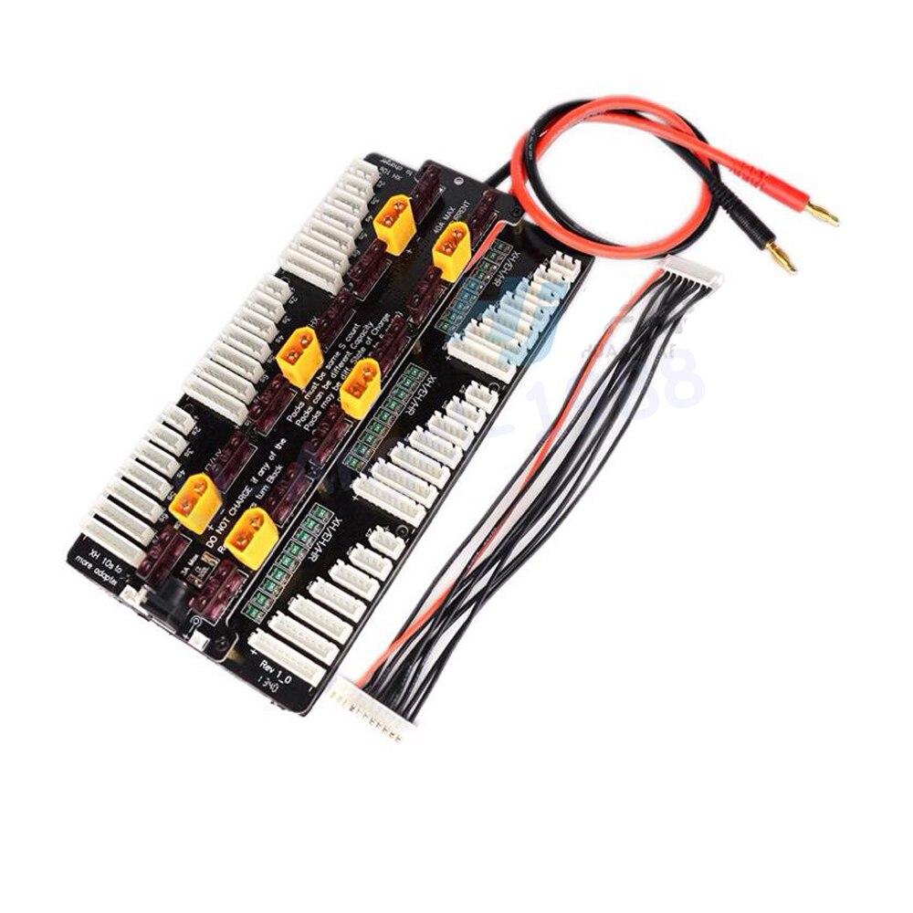 Новое зарядное устройство Cellpro PL8 PL6 308/3010/4010 2 ~ 8S, балансирующая плата 8s, Зарядка 6 батарей для радиоуправляемого дрона FPV, 1 шт.