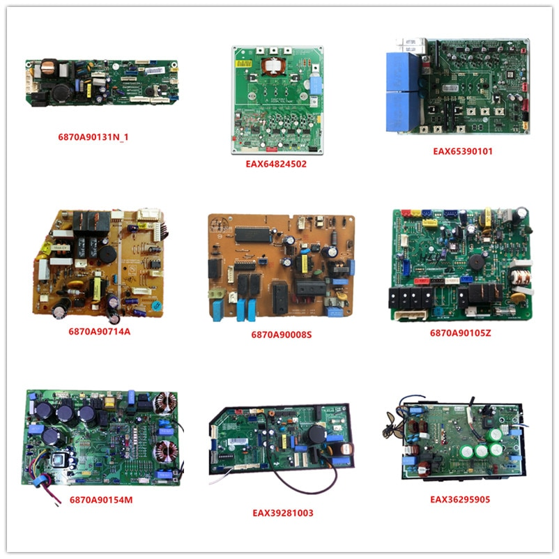 6870A90131N-1/ EAX64824502/ EAX65390101/ 6870A90714A/ 6870A90008S/ 6870A90105Z/ 6870A90154M/ EAX39281003/ EAX36295905 Used Work