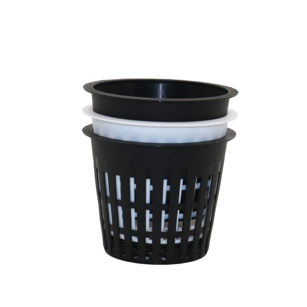5 Pcs Hydroponic Mesh Pot Vegetable planting basket Soilless cultivation equipment Aeroponic Plastic Plant rooter Net Cup