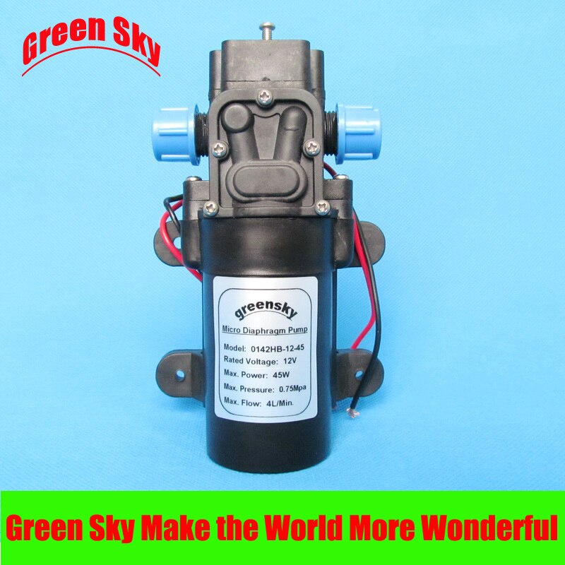 HIGH QUALITY 45W 12 volt high pressure water pump