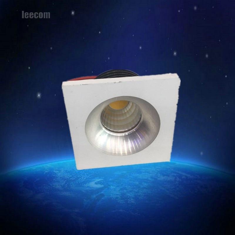mini down light Led 20pcs/lot 3w Led Downlight White Round Ceiling Spot Lights Panel Light Recessed Aluminum Lamp Warm