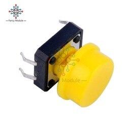 10 шт. новая B3F панель PCB мгновенная тактильная тактовая кнопка микропереключатель 4 Pin DIP Light сенсорные клавиши клавиатура