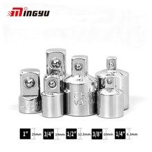 "1/4 ""3/8"" 1/2 ""Ratsche Adapter Chrom Vanadium Stahl Sleeve Adapter Stick Sockel Converter Schlüssel-hülse joint Konverter"