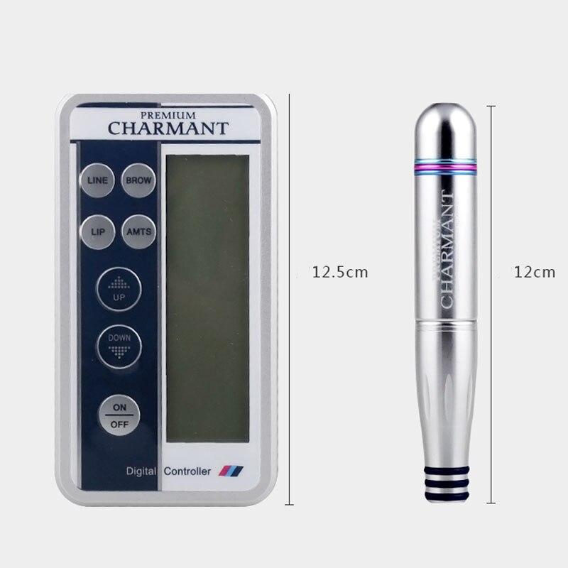 2020 Charmant, Kits de máquina de tatuaje permanente para maquillaje, máquina de tatuaje Digital profesional, máquina de lápiz labial para cejas, conjunto de máquina, envío directo