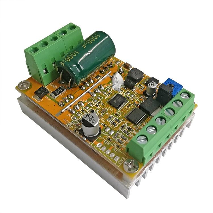 Controlador de Motor sin escobillas de 380W sin entrada de señal BLDC PWM PLC controlador de velocidad DC12V 24V 36V 48V voltios