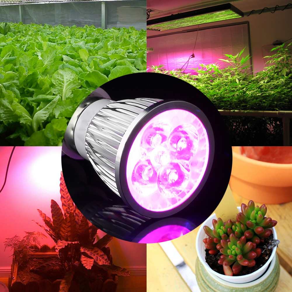 5w par20 planta luz AC85-265V interior hidropônico flor lâmpada planta crescer lâmpada plantas de interior super deal! Afastamento do inventário