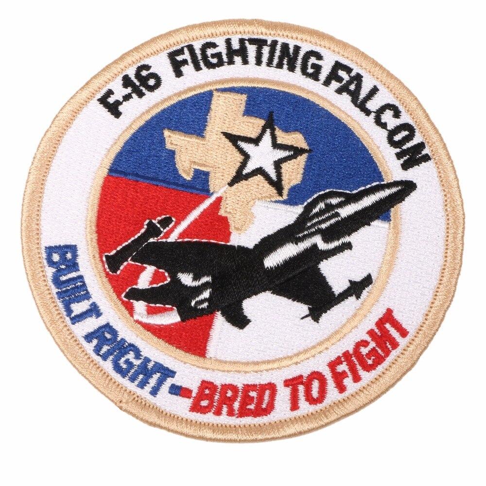 Parche bordado F-16 FALCON de combate USAF Estados Unidos