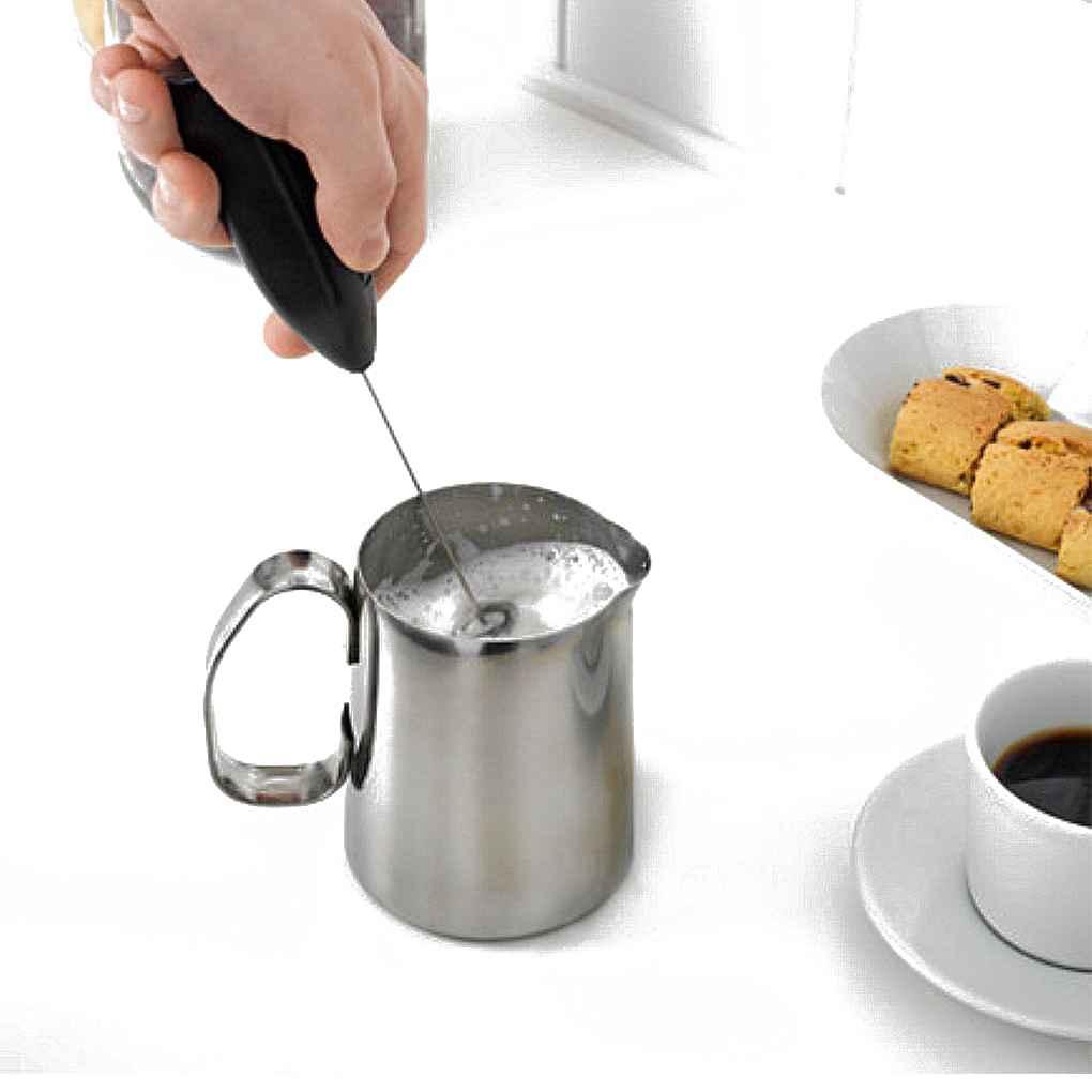 Bebidas calientes leche Espumador de café espuma batidora mexclador agitador eléctrico Mini batidor de huevo