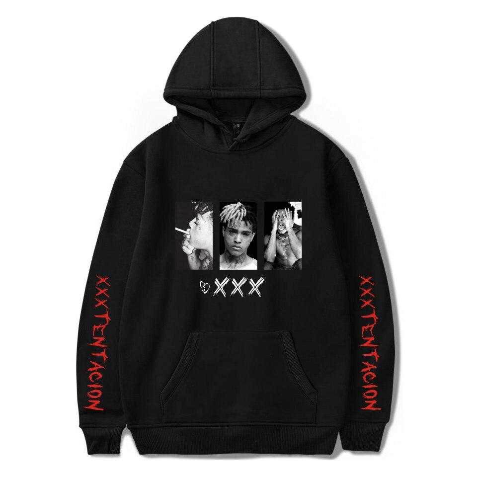 2019 nova xxtentacion hoodies moletom da moda das mulheres dos homens impressão xxxtentacion hoodies harajuku hip hop hoodies topos