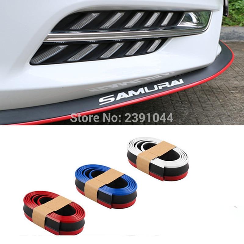 2,5 метров/рулон бампера для губ для Volkswagen VW Gol Parati Pointer Saveiro Voyage G2 G3 G4 G5 спойлер юбка/комплект для тела/полоса