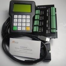 Richauto dsp controlador a11 conjunto completo inglês letras painel para máquina cnc de 3 eixos