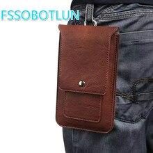 Double layer PU Leather pockets waist Bag For BQ-5003L 5507L 5591 5594 6000L 5700L 5590 5525 5521 Case Belt Pouch Holster Bag