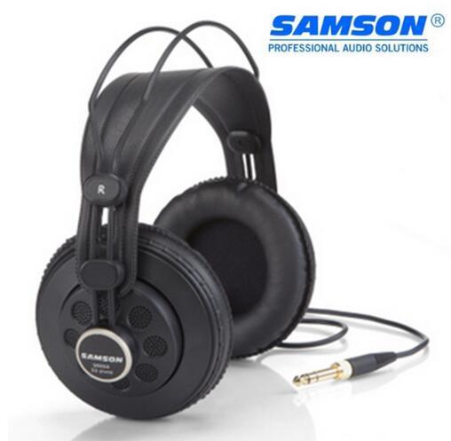 Hot Samson SR850 Semi-abierto-Back Studio referencia auriculares ancho dinámico profesional Monitor auriculares para el máximo aislamiento