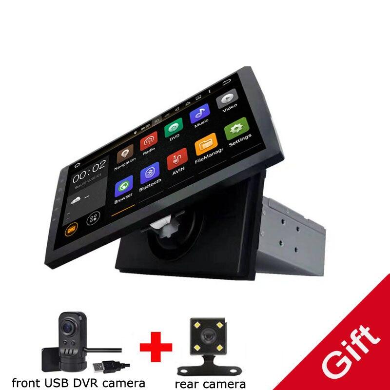 Universal 1 din Android 8,0 Octa Core reproductor de DVD del coche GPS Wifi BT Radio BT red volante RDS