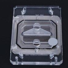 CPU-XPR-ZEN CPU Blocco di Raffreddamento Ad Acqua con RGB HA CONDOTTO LA Luce Kit Per AMD Ryzen AM4 AM3 Piattaforma