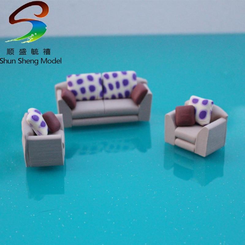 VSF22 2017 мини модель диван набор для модели дизайн масштаб 125-150 Миниатюрная модель мебель
