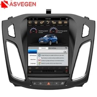asvegen vertical touch screen android 6 0 quad core car auto radio multimedia player gps navigation for ford focus 2012 2015