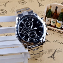 2021 Exquisite Processing Business About Men Stainless Steel Band Machinery Sport Quartz Watch Luxur
