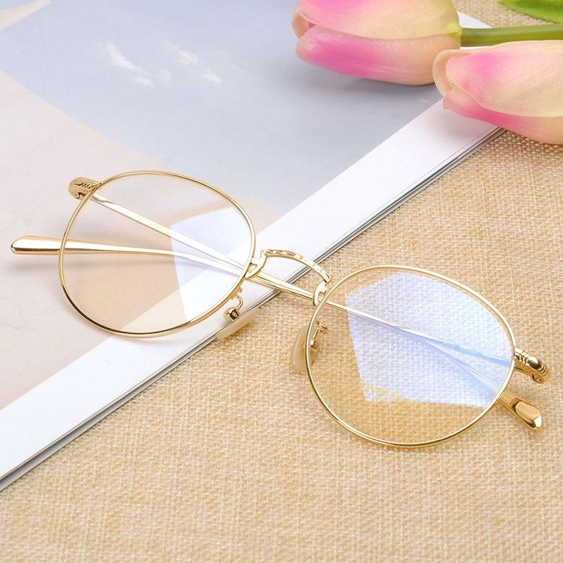 Marcos redondos Retro lentes recetados para Mujeres Hombres moda OV1174 gafas de titanio marco para hombres gafas circulares