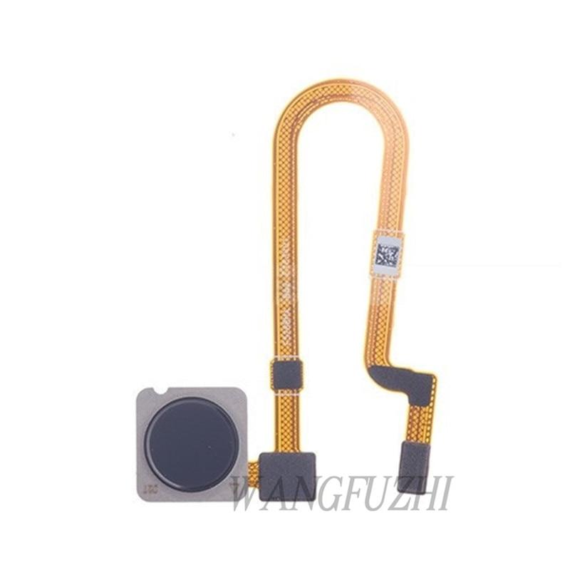 WANGFUZHI Original para Xiaomi mi 8 Lite escáner de huellas dactilares reemplazo de cable flexible pieza de reparación para Xiaomi mi 8 jóvenes (mi 8X)