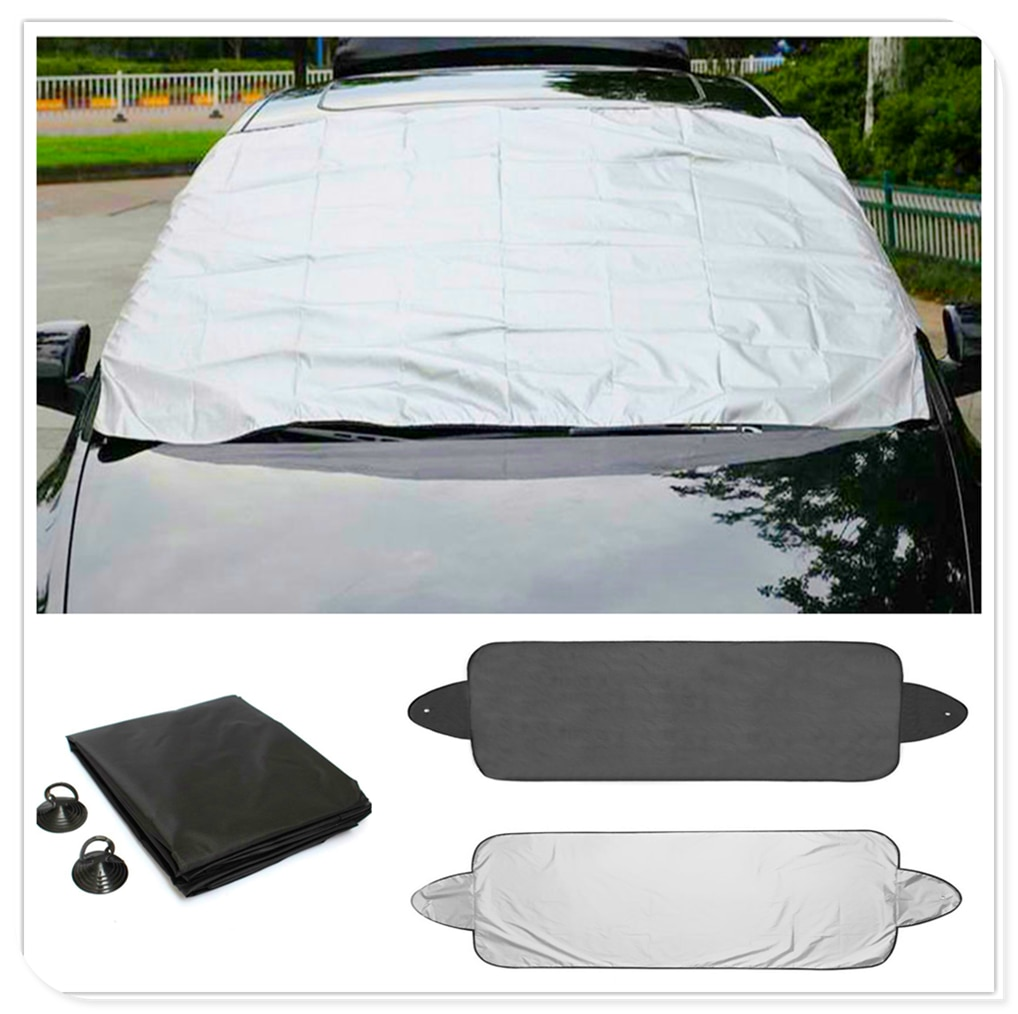 car Prevent Snow Ice Sun Shade Dust Frost Freezing window Windshield Cover Protector for Volvo V60 S60 XC60 XC40 360c V90 V40