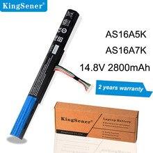 KingSener AS16A5K AS16A7K AS16A8K batterie dordinateur portable pour Acer Aspire E15 E5-475G E5-575G E5-575T E5-575TG E5-774 E5-774G E5-575