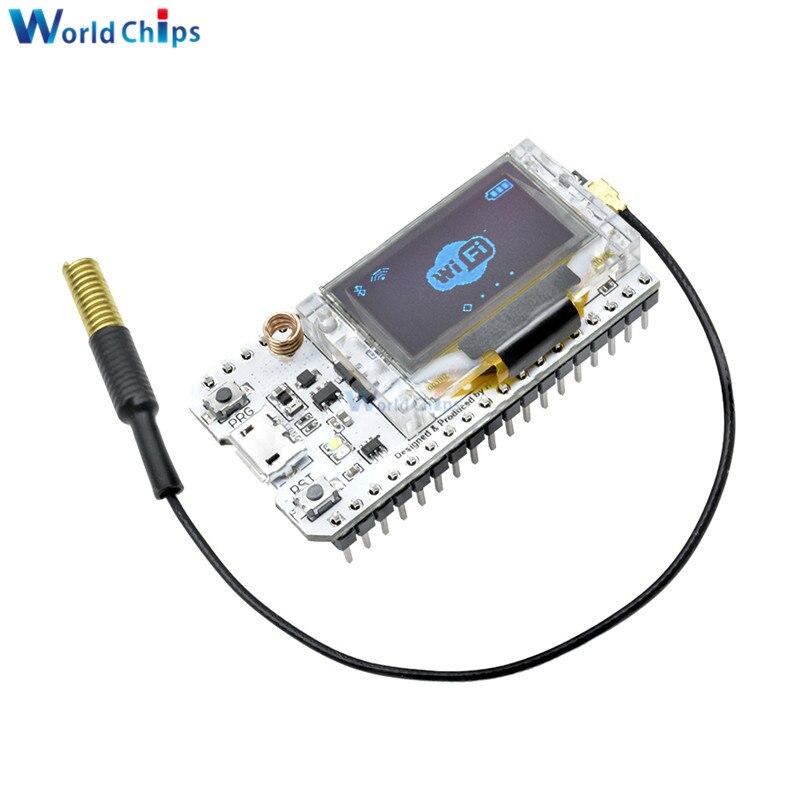 SX1278 LoRa ESP32 0.96 inch Blauw Oled-display Bluetooth WIFI Lora Kit 32 Module Internet Ontwikkeling 433MHz 470MHz voor Arduino