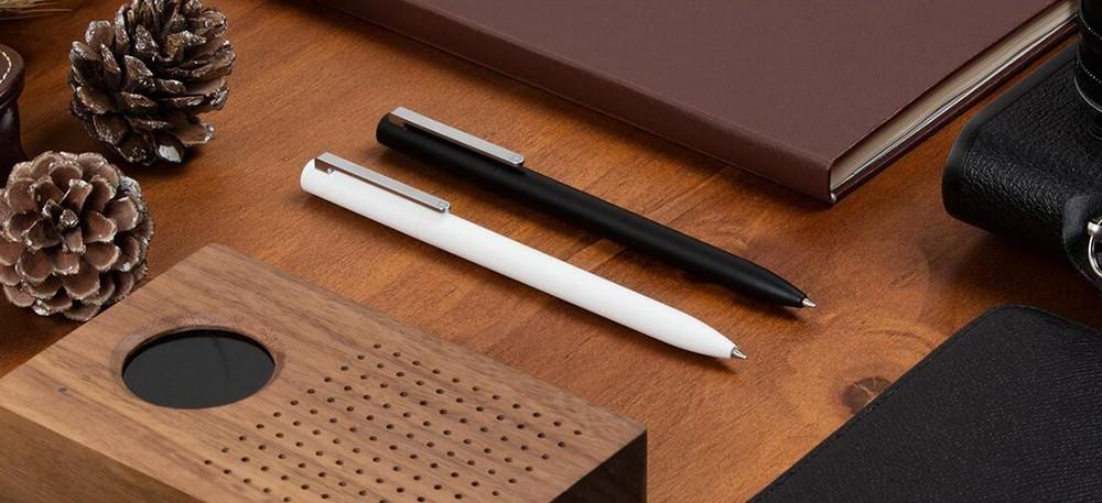 Oryginalny xiaomi podpisanie pen premec mijia znak pióra 9.5mm smooth szwajcaria mikuni japonia ink refill dodać mijia długopis czarny napełniania 6