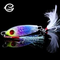 qxo jig crankbaits metal squid artificial bait fishing lures winter wobbler for trolling jigging baubles minnow all for fishing