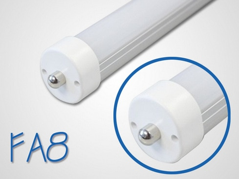 Free Shipping single pin LED Tube Light 1200mm 1500mm 18W  22W milky  cover and transparent  cover  3 years warranty enlarge