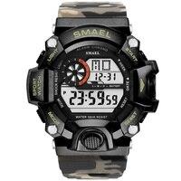 2020 SMAEL Sport Watch Men Male Clock LED Digital Quartz Wrist Watches Men's Top Brand Luxury Digital Watch Relogio Masculino