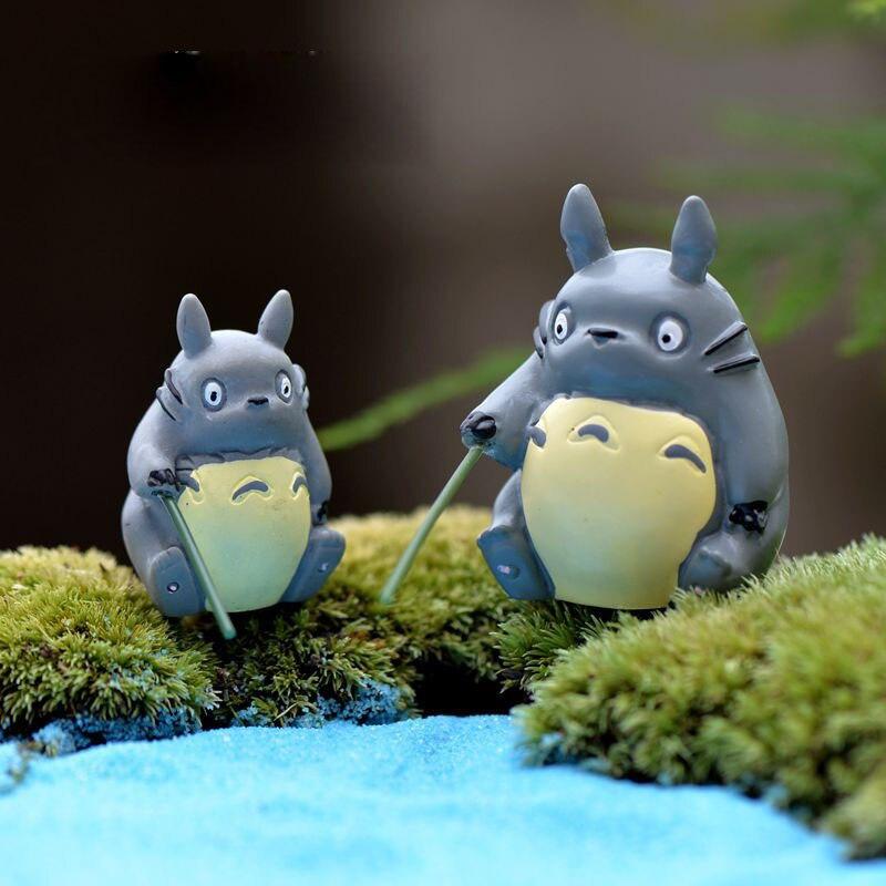 Рыбалка Totoro миниатюрные сказочные садовые аксессуары для рукоделия