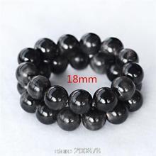 BB-473 2015 nouveauté été homme sain Bracelet naturel noir corne de buffle ronde perlée Bracelets 16/18/20/25mm livraison gratuite