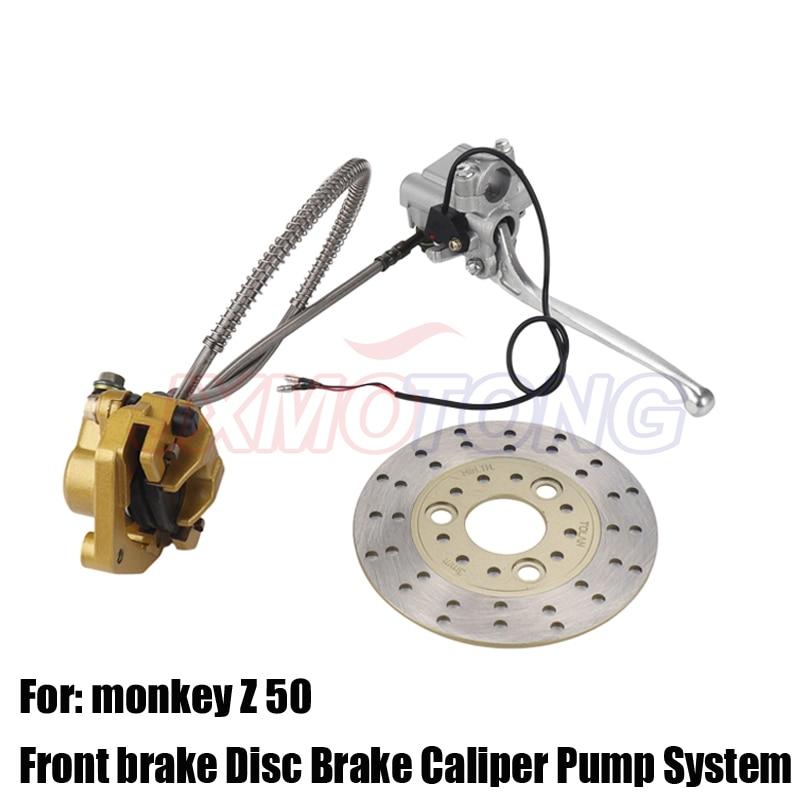 Hydraulic Front brake Disc Brake Caliper Pump System Fit For RM Monkey Z50 Bike Z50R