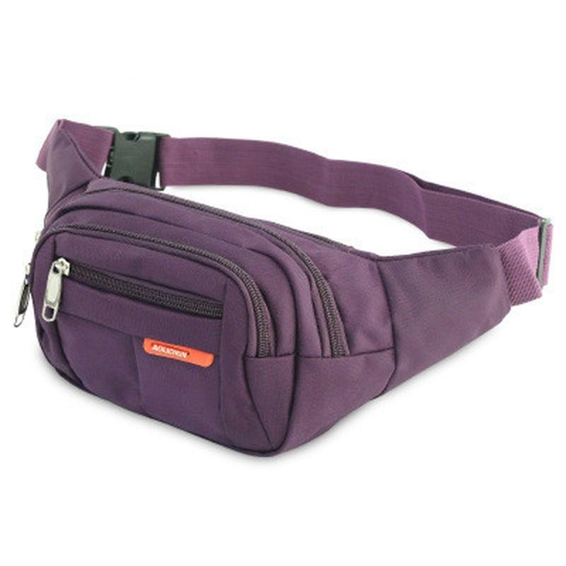 BISI GORO sports bag fanny pack men women Multi-pocket and large-capacity recreational Hip Bum Waist Bag Belt Motion chest bag