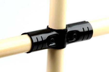 6 unids/lote 28mm tubo delgado conector abrazadera de tubo Clip HJ-4