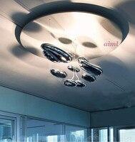 LED Space water drop mango Modern Pendant Lights LED liquid Luminaire Science And Technology Pendant lamp 85-265v