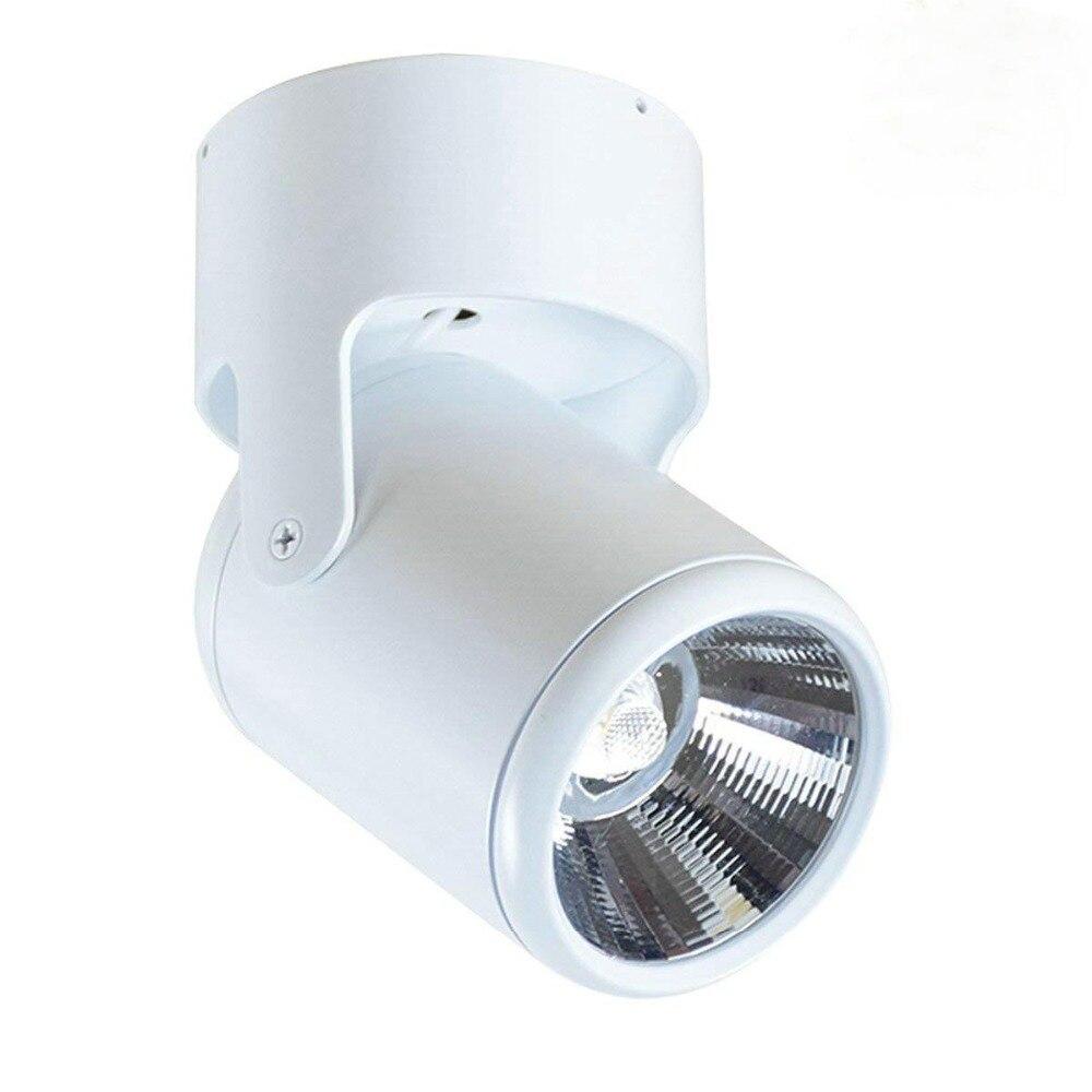 Techo 4 Uds. 6w 12w 18w 24w montado en superficie lámpara de techo Led Panel Downlights para baño iluminación Ac85-265v con conductor