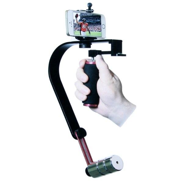 PRO Steadycam Steadicam videocámara DSLR Cámara teléfono celular sistema estabilizador para DSLR cámara DV teléfono
