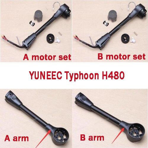 YUNEEC typhoon H480 RC Quadcopter piezas de repuesto brazo accesorios de fábrica brazo de motor