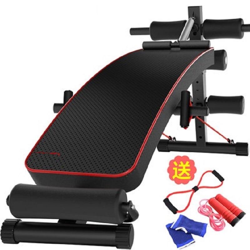 Sit ups fitness equipo ABS salud tablero de ejercicio placa en la web sit ups push up soporte