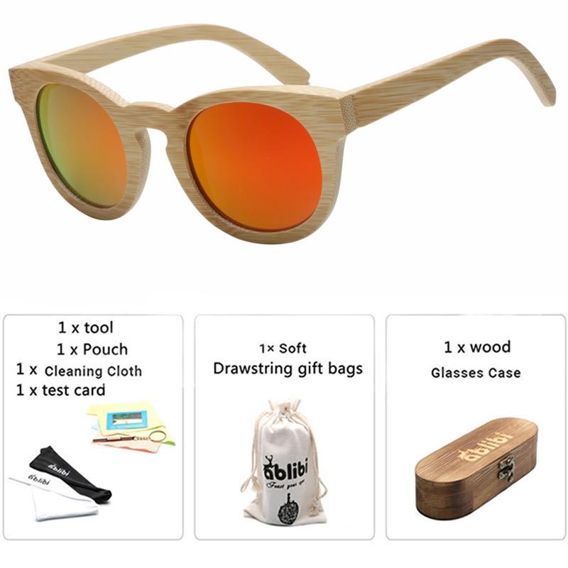 Sunglasses Women Handmade Cat Eye Retro Bamboo Wooden Gold  Sun Glasses okulary Oculos Wood Case Drop Shipping