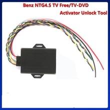 Outil de déverrouillage TV   NTG 4.0/ NTG 4.5/NTG 4.7, Support W212/ W204/X204/W166/X166/B/A, déverrouillage de vidéo/vidéo